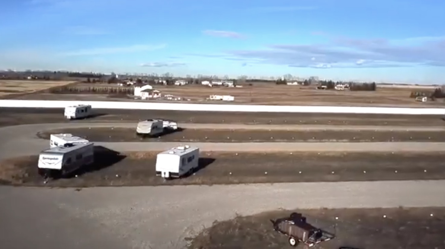 RV Storage Calgary Location